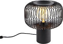 Lampe de table design noire - Baya