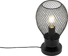Lampe de table design noire - Raga