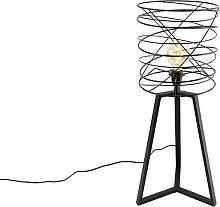 Lampe de table design noire - Spira
