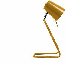 Lampe de table design Z ocre jaune