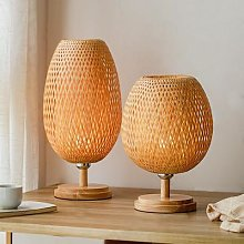 Lampe de Table E27 en bois avec support, 110-240V,