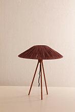 Lampe de table Edu Terracota Sklum