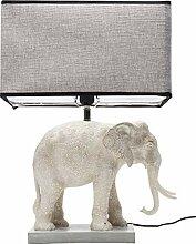 Lampe de table Éléphant gris Kare Design