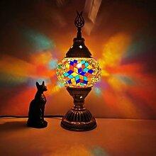 Lampe de Table en mosaïque fait à la main,