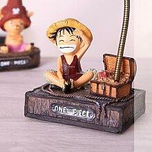 Lampe de Table en résine Luffy et Joba, veilleuse