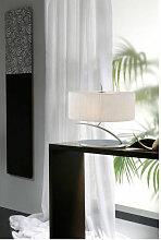 Lampe de Table Eve 2 Ampoules E27 Small, chrome