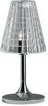 Lampe de table Flow H 25 cm - Fabbian transparent
