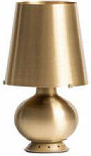 Lampe de table Fontana Medium / H 53 cm - Laiton -
