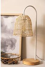 Lampe de table Gavia Blanc Sklum