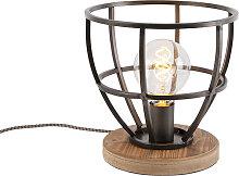 Lampe de table industrielle noire - Arthur