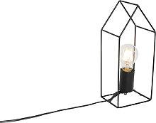 Lampe de table industrielle noire - Hiso