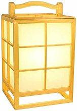 Lampe de table japonaise Lampe de sol en bois PVC