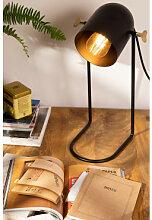 Lampe de table Klip Noir Sklum