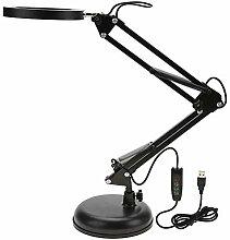 Lampe de table, lampe à pince pliante Nail Art