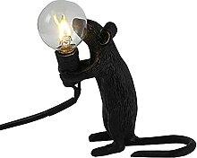 Lampe de table lampe de bureau souris forme