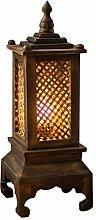 Lampe de Table Lampe de table de la cage de bambou