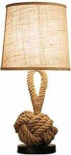 Lampe de table Lampe de table de la chambre à