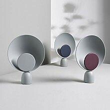 Lampe de table LCSD Acier au carbone/Artisanat LED