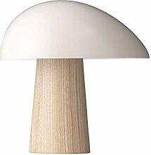 Lampe de table LCSD Lampe de champignon en bois