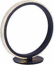 Lampe de table LED salon salle à manger anneau