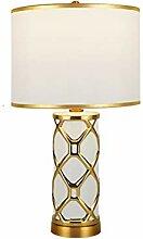 Lampe de table Luxe Post Modern or et noir Ceremic