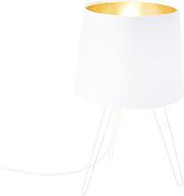 Lampe de table moderne blanche - Lofty