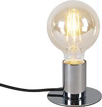 Lampe de table moderne chrome - Facil