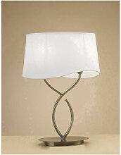 Lampe de Table Ninette 2 Ampoules E14 Large,