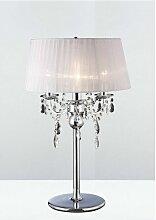 Lampe de Table Olivia avec Abat jour blanc 3