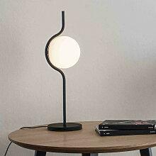 Lampe de table opaline