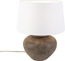 Lampe de table Palma XS vintage avec abat-jour