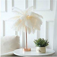 Lampe de Table Plume Lampe de table