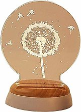 Lampe de table romantique, créative, mignonne,