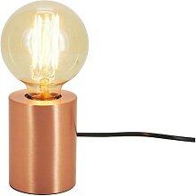 Lampe de table ronde cuivre - Lucia