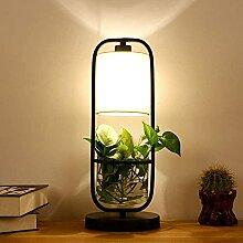 Lampe de table RRB Lampe de table LED en tissu
