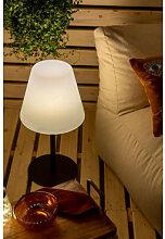 Lampe de table solaire d'extérieur Llahra