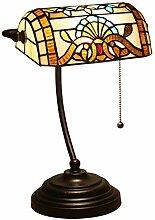 Lampe de Table Tiffany Style Lampe de Banquier,