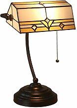 Lampe de Table Tiffany Style Lampe de Banquier