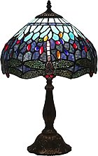 Lampe De Table Tiffany Violet Libellule Lampe De