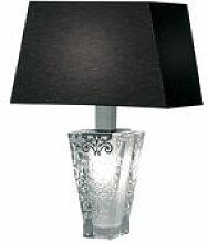 Lampe de table Vicky - Fabbian noir en