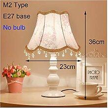 Lampe de table Vintage Crystal Table Lampes de