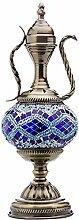 Lampe de théière turque mosaïque Verre marocain