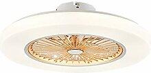 Lampe De Ventilateur De Plafond Minimaliste