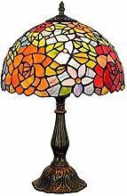 lampe de vitrail,lampe de vitrail,Lampe de table