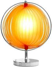 Lampe design orange IRIS