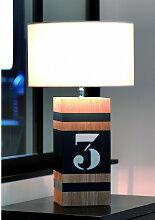 Lampe en bois L34 personnalisable - Up M