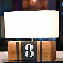 Lampe en bois L34 personnalisable