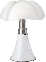Lampe en métal blanc H86cm