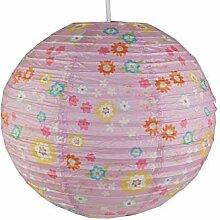 Lampe en papier pour chambre d'enfant -