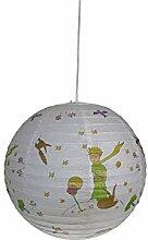 Lampe en papier pour chambre d'enfant avec LED